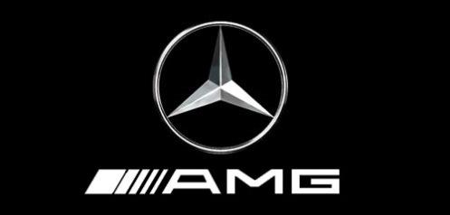 AMG Logo White